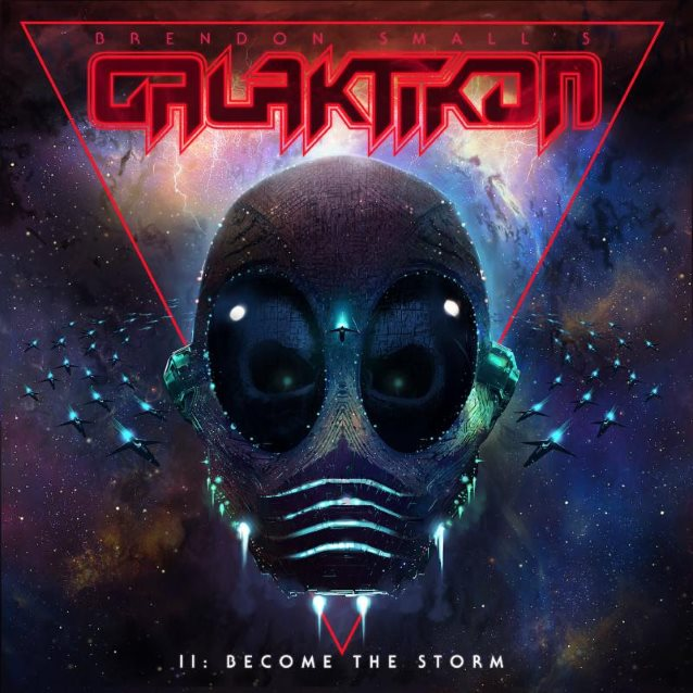 Listen To BRENDON SMALL's New Single, 'My Name Is Murder', From  'Galaktikon II: Become The Storm' Album