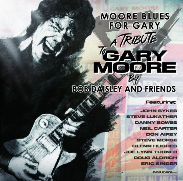 Bob Daisley and Friends - Moore Blues for Gary - A Tribute To Gary Moore (26 ocotbre 2018) Garymooretributecd
