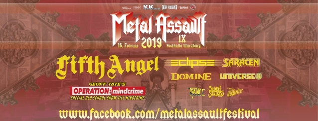 GEOFF TATE Performs Special 'Old-School' QUEENSRŸCHE Set At Germany's METAL ASSAULT Festival (Video)