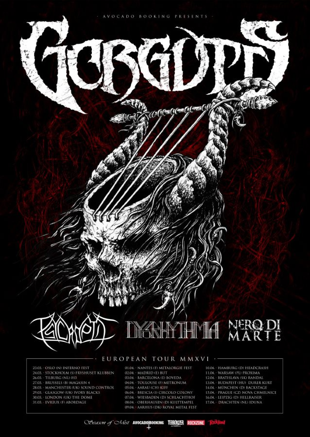 Gorguts Tour