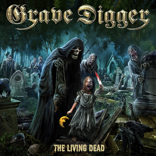 GRAVE DIGGER: Video Footage From 'The Living Dead' Listening Session