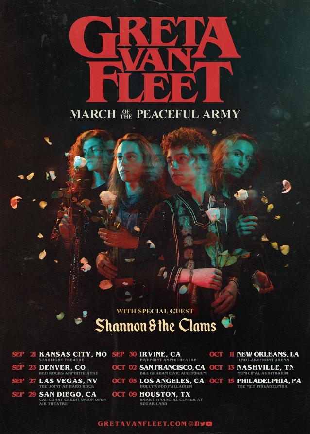 Greta Van Fleet Announces Fall 2019 U S  Tour - Blabbermouth net