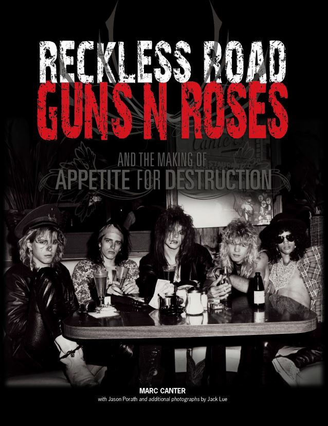 guns n roses reckless road biography to be turned into