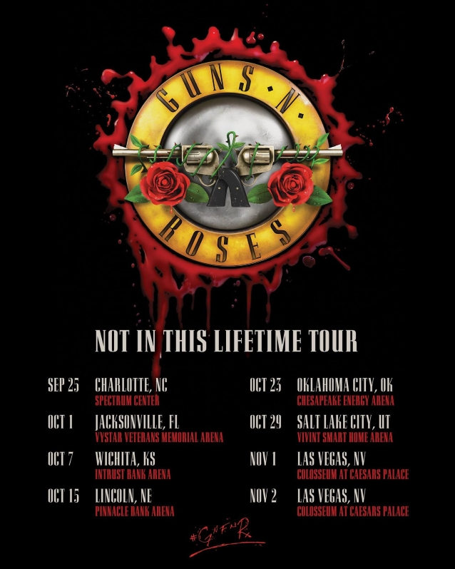 GUNS N' ROSES Announces Fall 2019 U S  Tour Dates - Hard