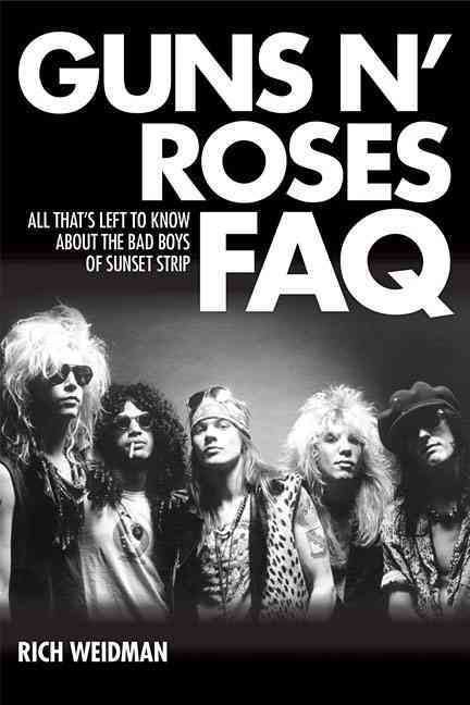 GUNS N' ROSES: 'FAQ' Book Now Available From BACKBEAT BOOKS