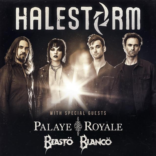 HALESTORM Announces Spring 2019 North American Tour; BLABBERMOUTH.NET Presale Available
