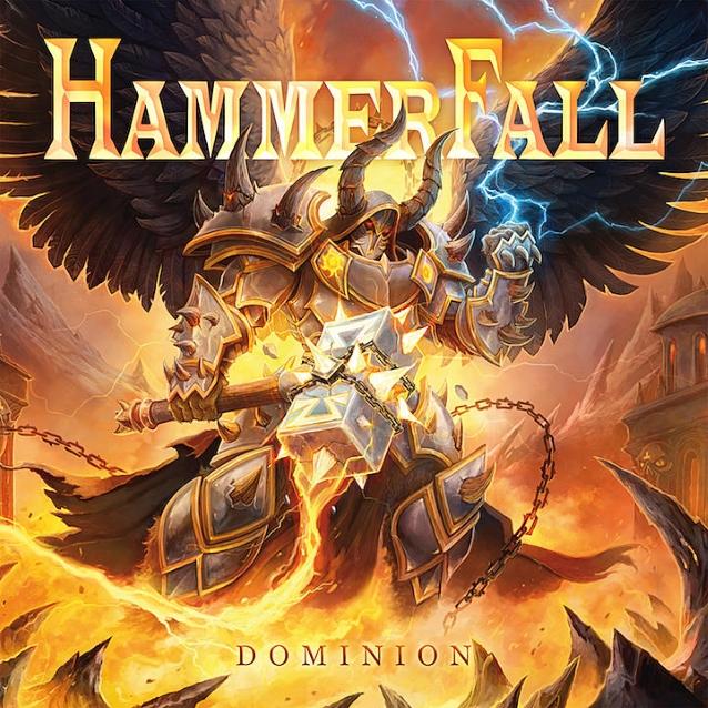 HAMMERFALL - Dominion (16 aout 2019) Hammerfalldominioncd