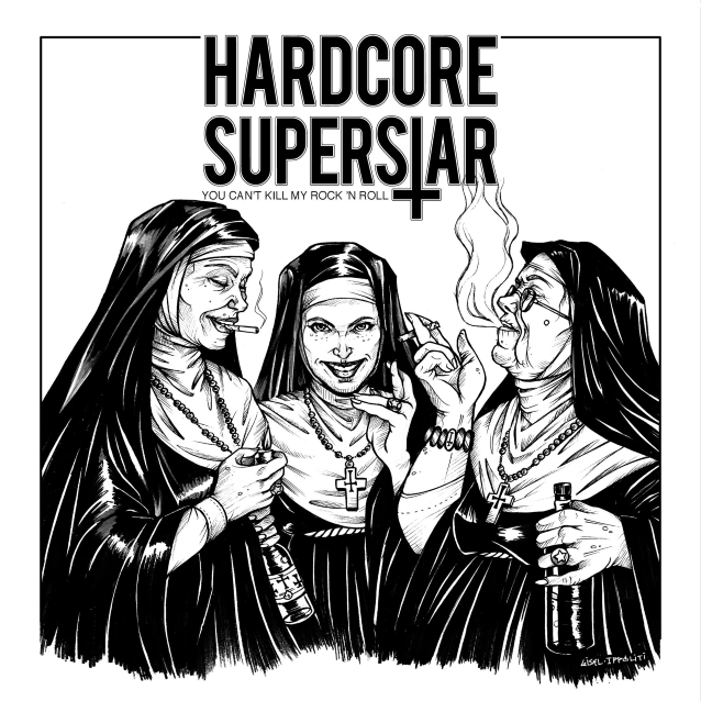 HARDCORE SUPERSTAR: 'You Can't Kill My Rock 'N Roll' Video Released