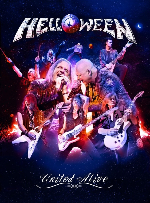 Helloween - Tournée reformation! 2017-2018 - Page 3 Helloweenunitedalivedvd