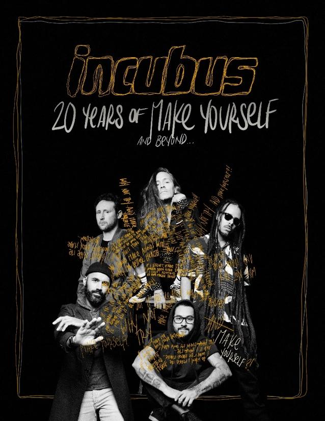 """INCUBUS - """"8"""" / 21-04-2017 / Hay single - Página 13 Incubus20yearsofmaketourposter"""