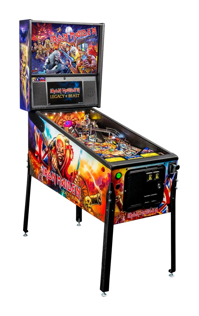 New Iron Maiden Pinball Machines Available Through Stern