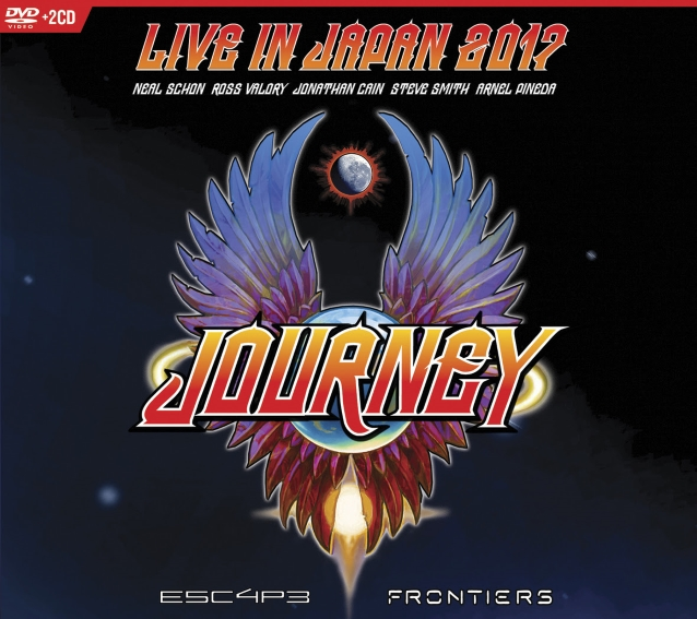 Watch JOURNEY Perform 'Separate Ways (Worlds Apart)' From 'Live In Japan 2017: Escape + Frontiers' DVD