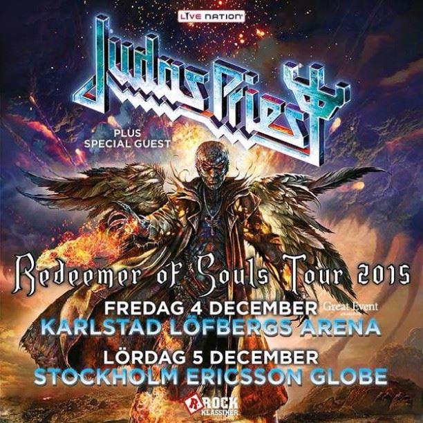 judasprieststockholm2015poster