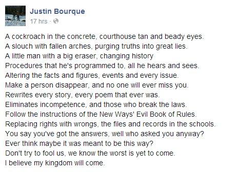 justinbourquefacebookpost