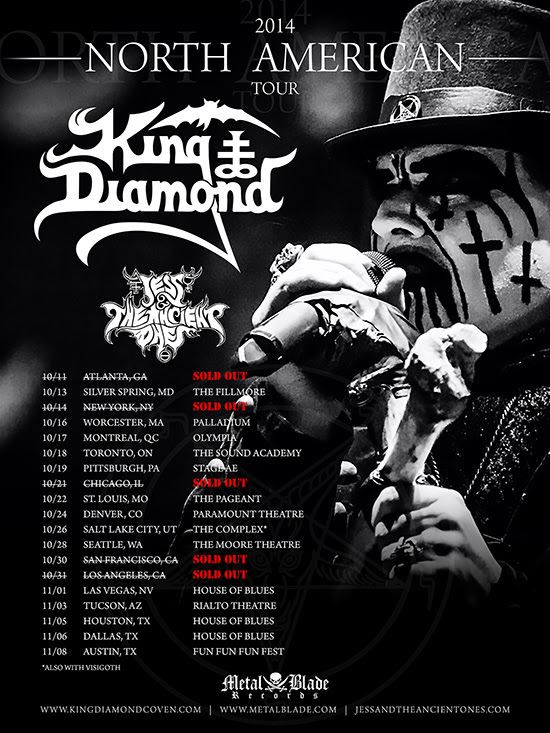 King Diamond North American Tour