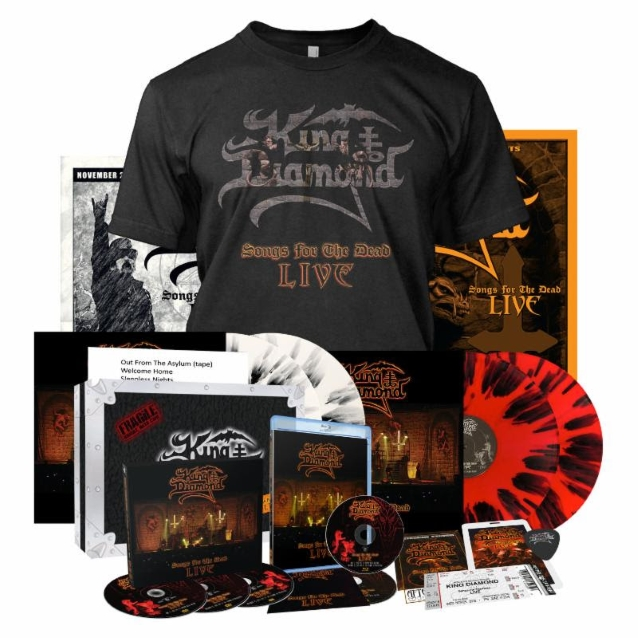 Watch KING DIAMOND Perform 'Arrival' In Philadelphia From 'Songs For The Dead Live' DVD/Blu-Ray
