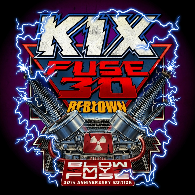 KIX Members Discuss Transferring 'Blow My Fuse' Original Analog Tapes To Digital For 'Fuse 30 Reblown' (Video)