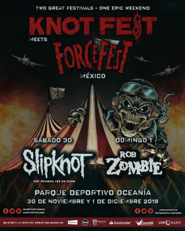 Slipknot's Knotfest Joins Forces With Forcefest For Two