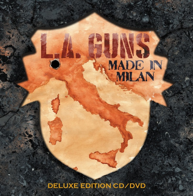 L.A. GUNS: 'Speed' Performance Clip From 'Made In Milan' DVD And Blu-Ray