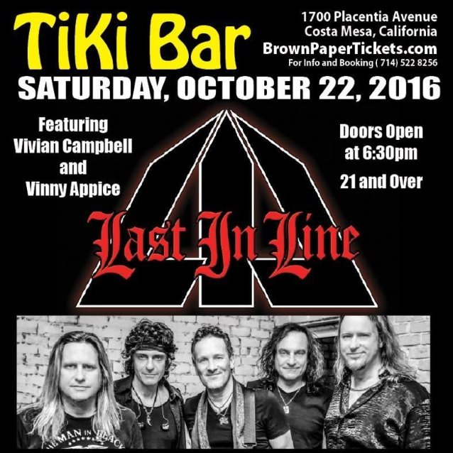Video: LAST IN LINE Performs In Costa Mesa