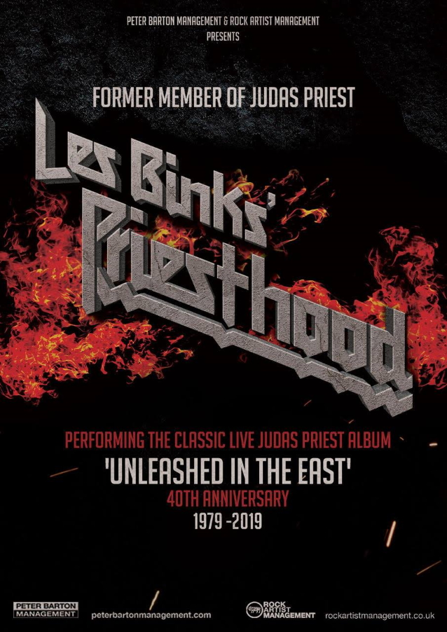 Former Judas Priest Drummer Les Binks To Perform 'Unleashed In The