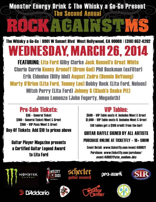 litafordrockagainstms2014