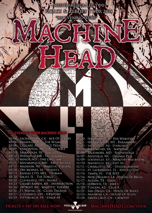 machine head 39 s phil demmel and dave mcclain to leave band after one final u s tour. Black Bedroom Furniture Sets. Home Design Ideas