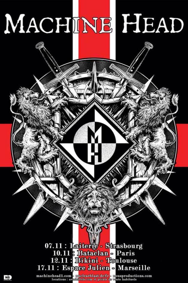 machineheadfrancetour2014poster