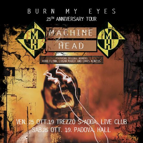Three-Fourths Of MACHINE HEAD's 'Burn My Eyes' Lineup To Reunite For 25th-Anniversary Tour
