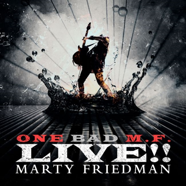 MARTY FRIEDMAN: Listen To 'Mutation Medley' From 'One Bad M.F. Live!!'