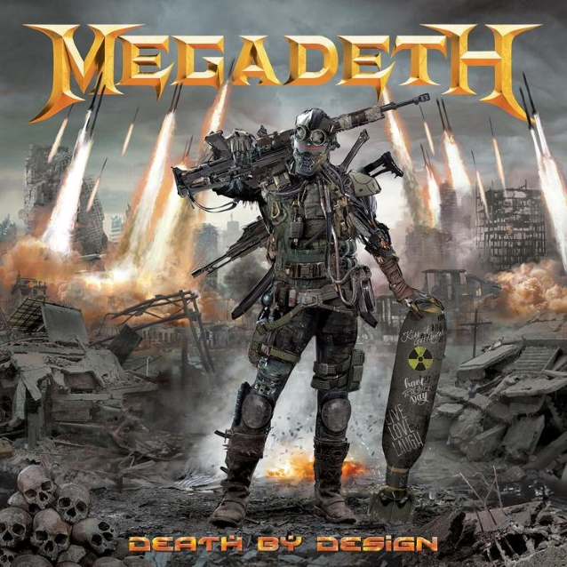 MEGADETH's DAVE MUSTAINE Talks About Making Of 'Rattlehead' Song For 'Death By Design' Graphic Novel (Video)