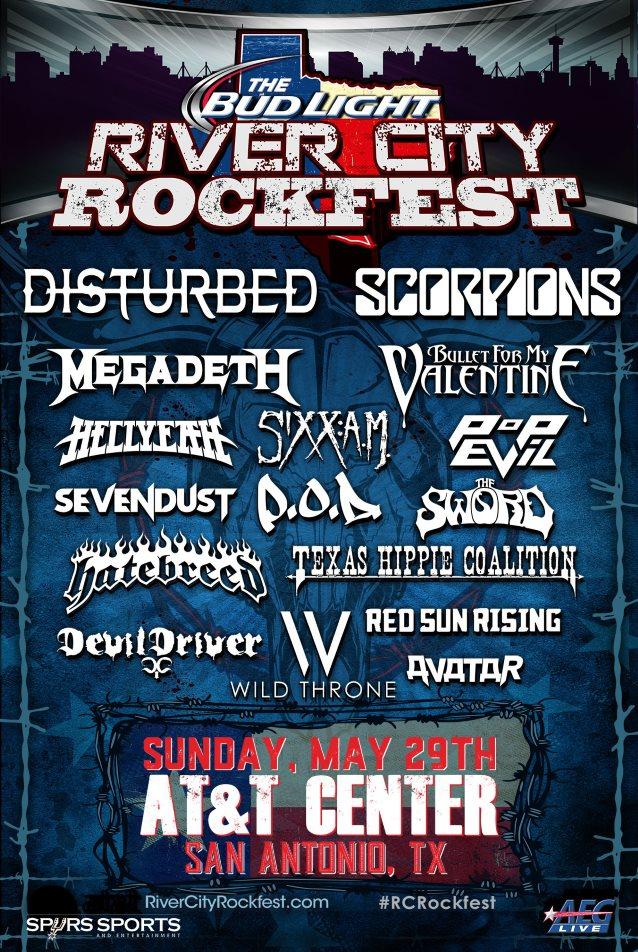 megadethrivercityrockfest2016poster