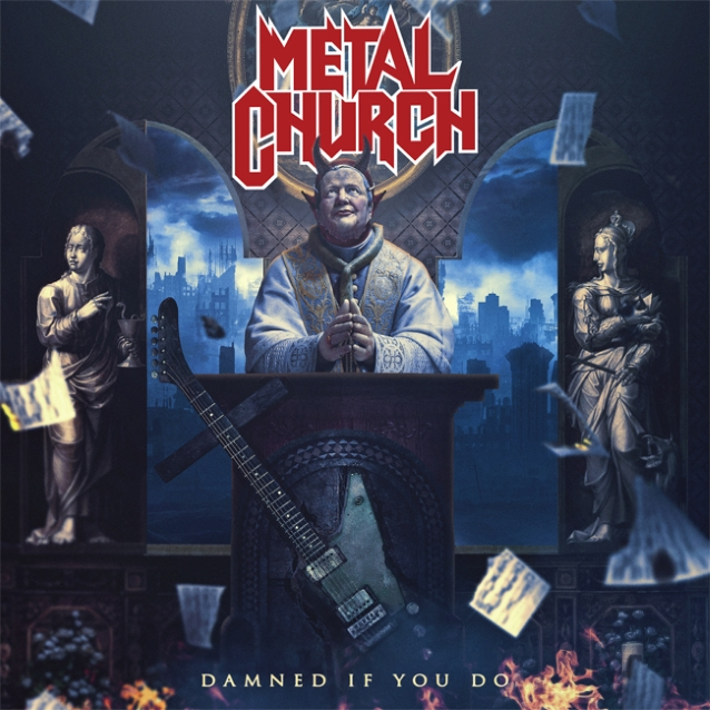 METAL CHURCH - Damned If You Do (7 décembre 2018) Metalchurchdamnedifyoudocd