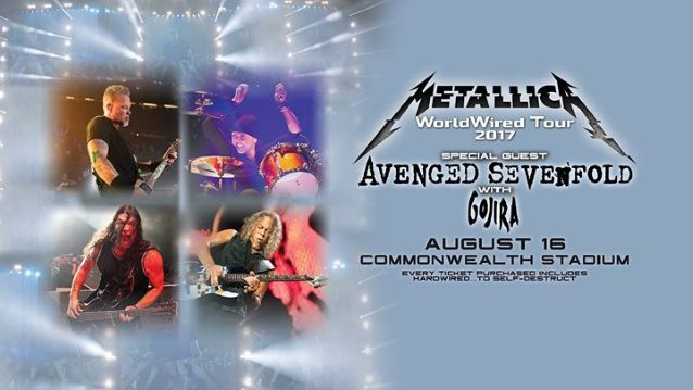 METALLICA: Final Show Of North American Leg Of 'WorldWired' Tour To Be Streamed Live
