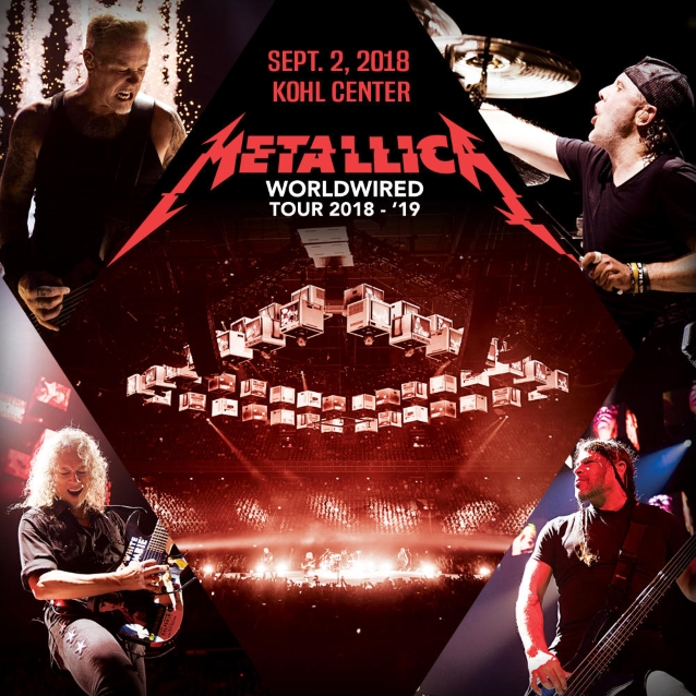 METALLICA: Pro-Shot Footage Of 'Cyanide' Performance From Madison