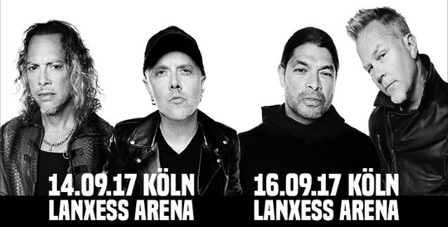 METALLICA: Pro-Shot Footage Of 'Seek & Destroy' Performance From Cologne