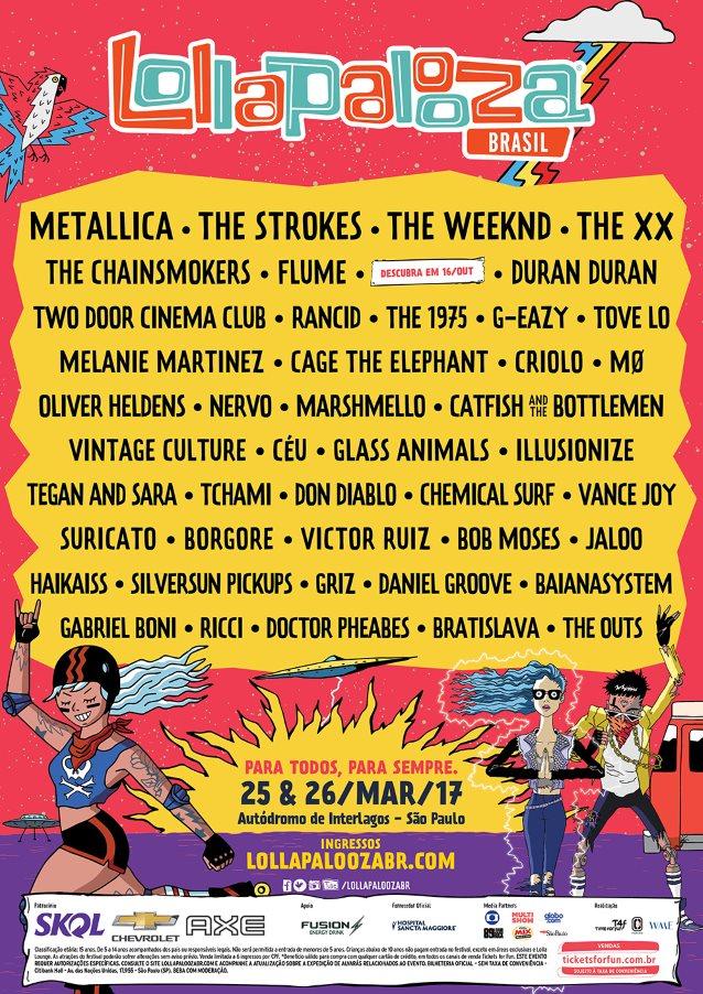 metallicalallpaloozabrazil2017poster