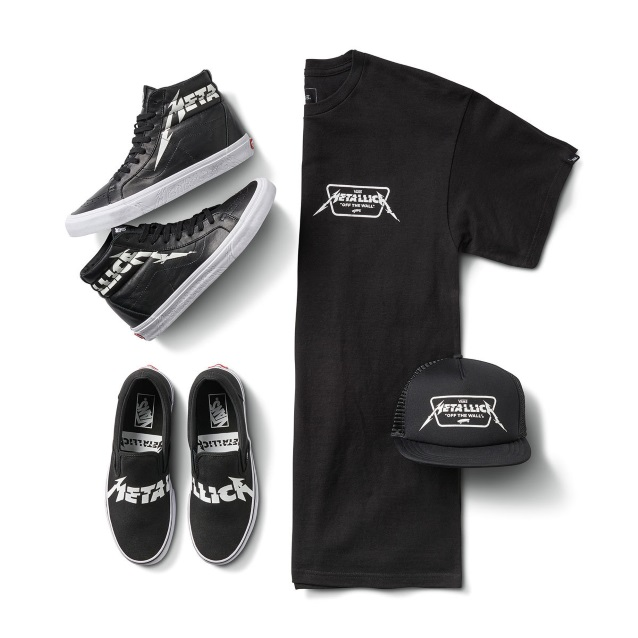 223e4872fa13 Metallica Teams Up With Vans For Another Exclusive Footwear ...