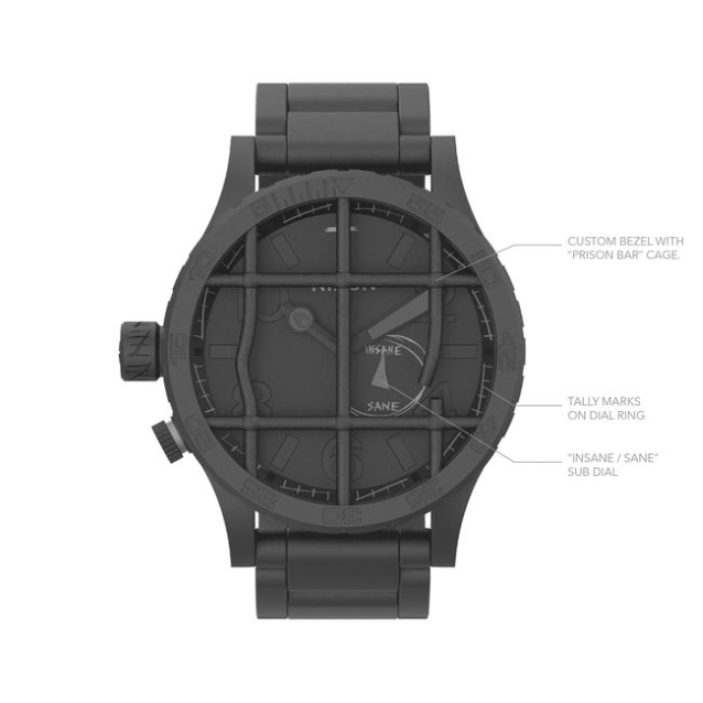 METALLICA Teams With NIXON For Watch Collaboration