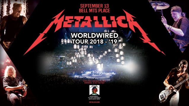 wholesale dealer a1d51 d790a METALLICA is in the back half of its three-year, 134-city