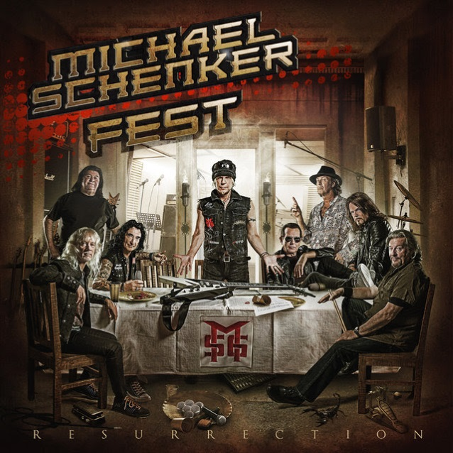 Image result for MICHAEL SCHENKER FEST RESURRECTION
