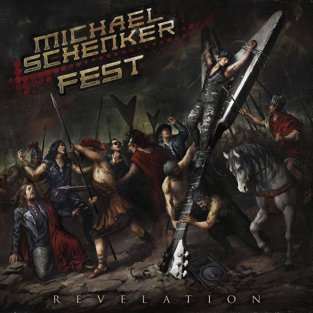 Michael Schenker Recreates Crucifixion Of Jesus On Cover Of