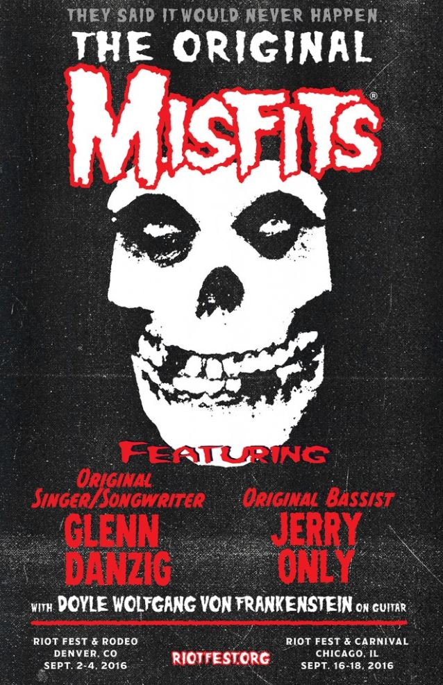 Will Reunited MISFITS Make New Music? GLENN DANZIG Doesn't Know