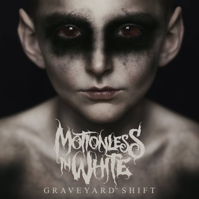 Image result for motionless in white graveyard shift album art