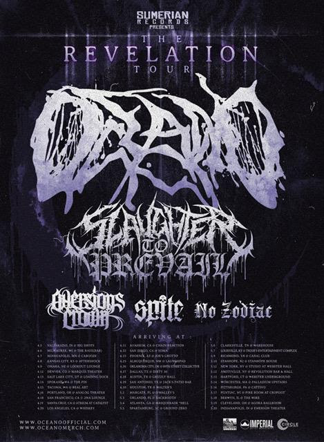 OCEANO Signs With SUMERIAN RECORDS