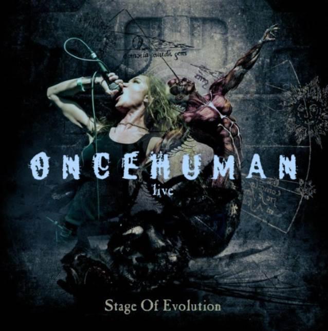 ONCE HUMAN (Logan Mader) - Evolution (20 janvier) Oncehumanstageofevolutioncd