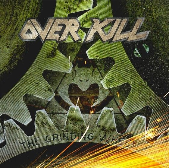 Image result for album art Overkill: The Grinding Wheel