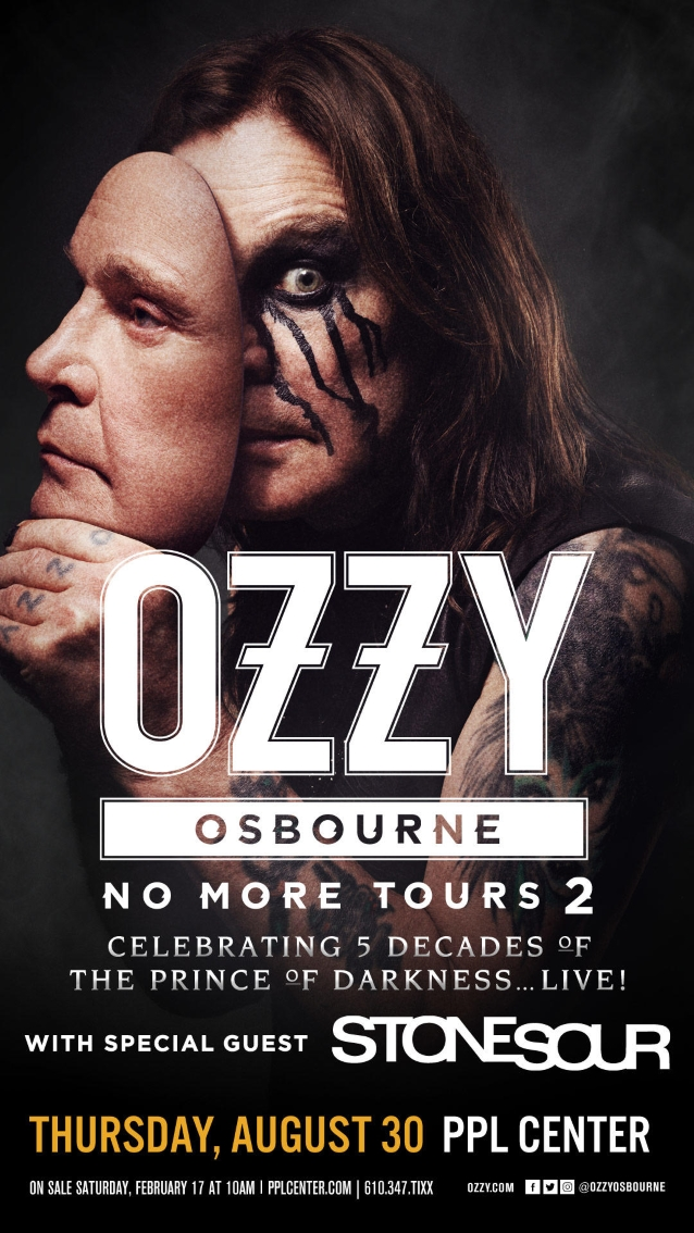 OZZY OSBOURNE Kicks Off New North American Leg Of 'No More Tours 2' In Allentown (Video)