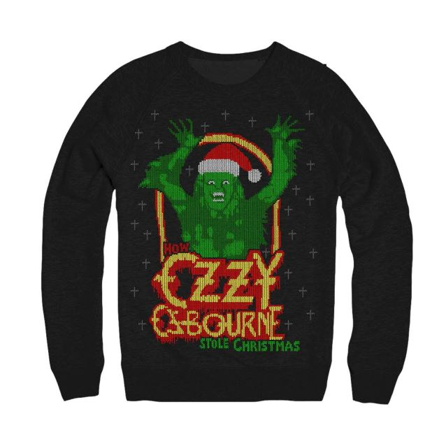 Ozzy Osbourne 'Ugly Christmas Sweater' Now Available - Blabbermouth.net