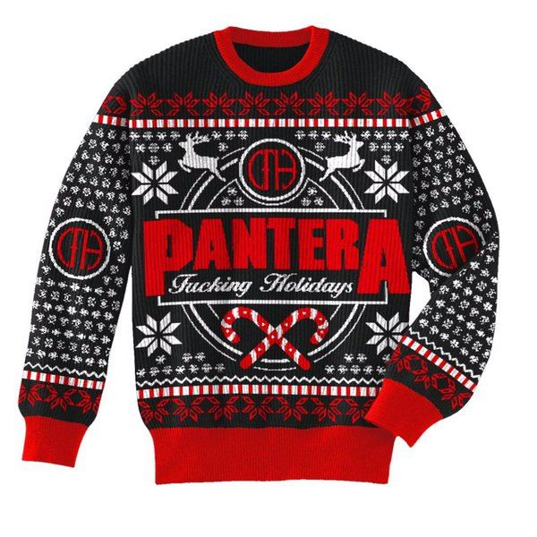 panterachristmassweater2015 - Best Place To Buy Ugly Christmas Sweaters